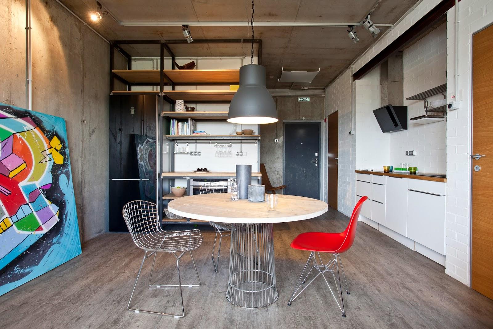 déco appartement style industriel