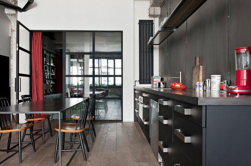 idée déco appartement style industriel