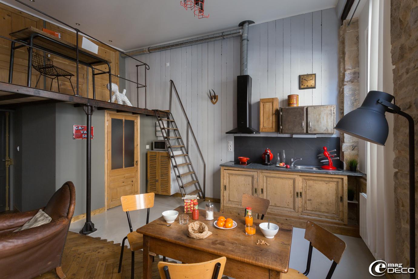 organisation déco appartement style industriel
