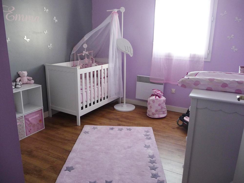Déco chambre de bebe fille