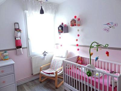 exemple déco chambre de bebe fille