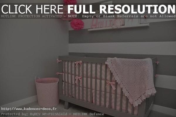 modèle déco chambre de bebe fille
