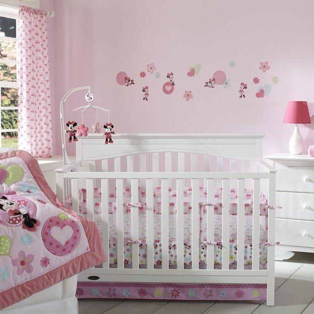 organisation déco chambre de bebe fille