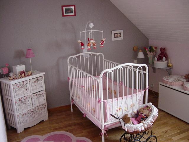 photo déco chambre de bebe fille