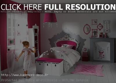 aménagement déco chambre de fille