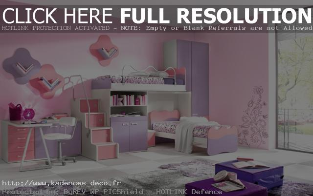 agencement déco chambre de fille