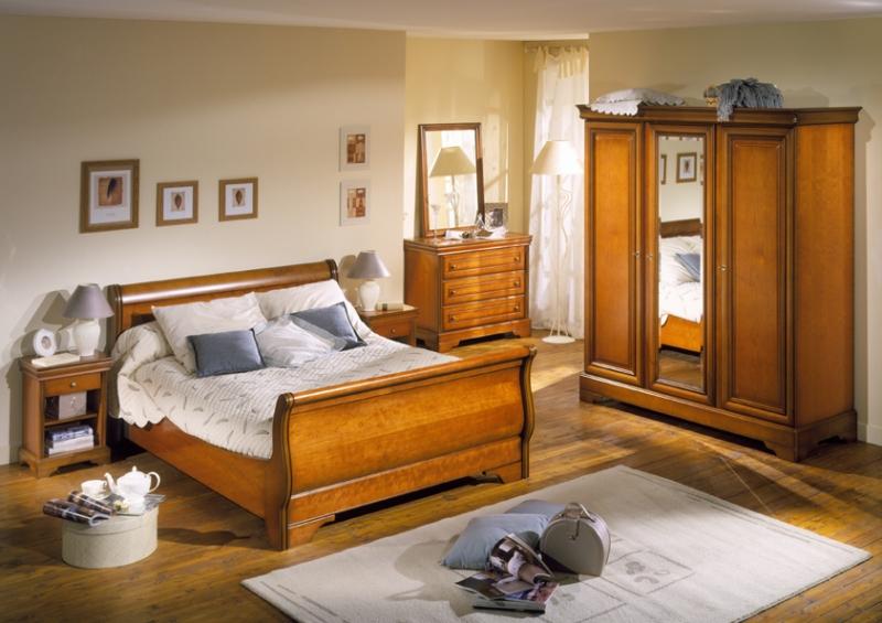 Déco chambre meuble ancien