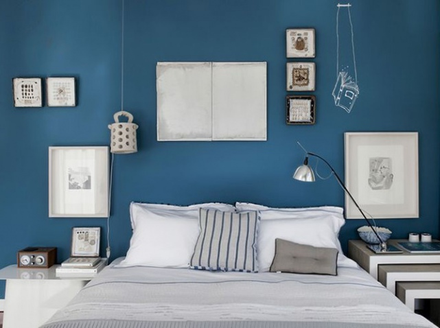 exemple déco chambre peinture couleur