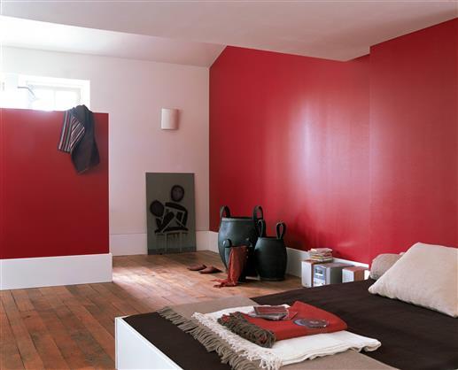 exemple déco chambre peinture murale