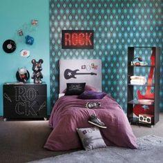 idée déco chambre rock'n'roll