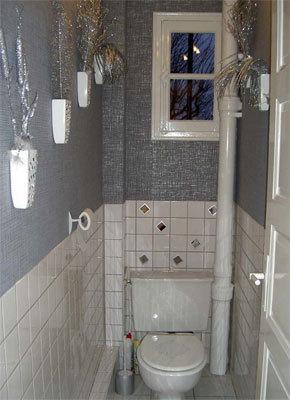aménagement déco coin wc