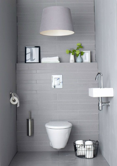 exemple déco coin wc