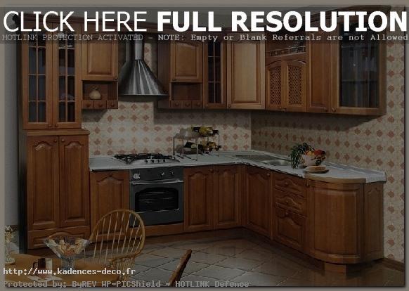 exemple déco cuisine bois