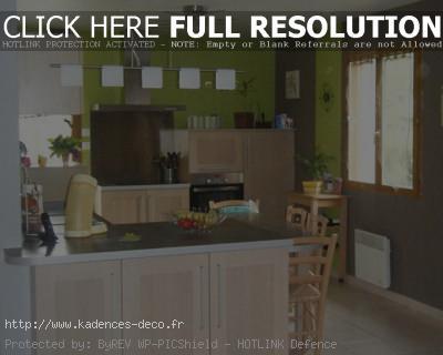 aménagement déco cuisine bois clair