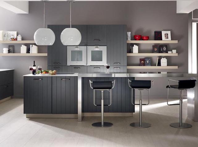 déco cuisine en gris
