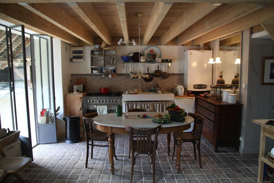 aménagement déco cuisine rectangulaire