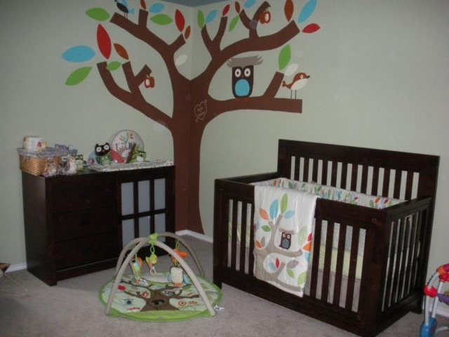 déco hibou chambre bebe