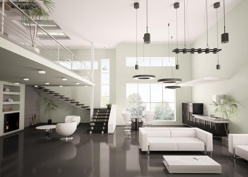 aménagement déco interieur maison contemporaine