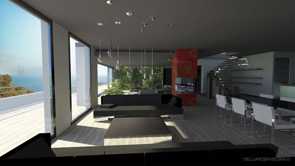 exemple déco interieur maison contemporaine