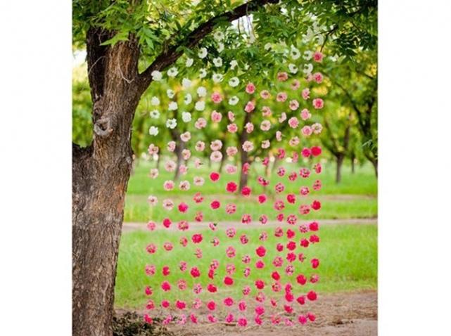 idée déco jardin arbre