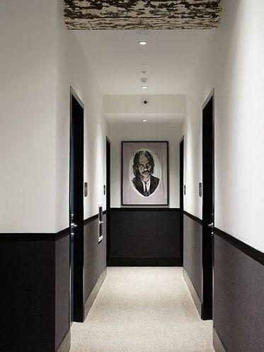 Déco maison peinture couloir