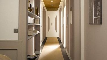 aménagement déco maison peinture couloir