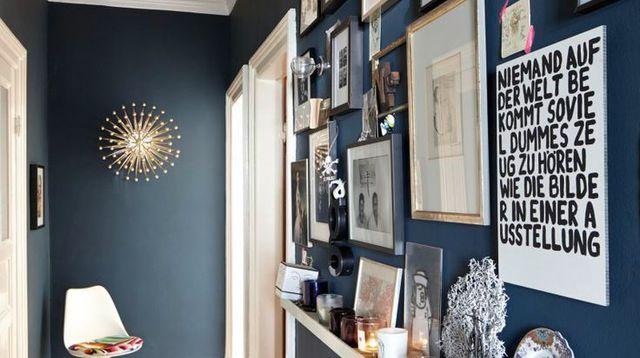 exemple déco maison peinture couloir