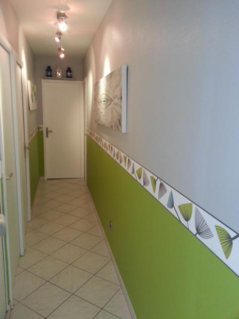 agencement déco maison peinture couloir