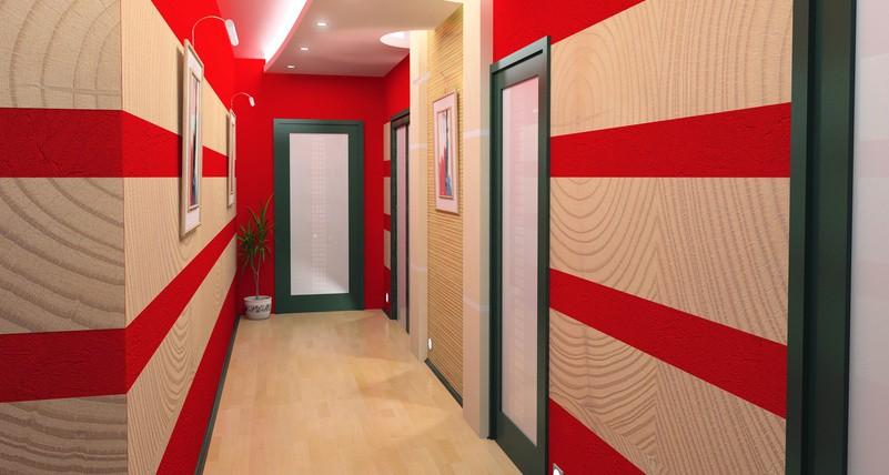 organisation déco maison peinture couloir