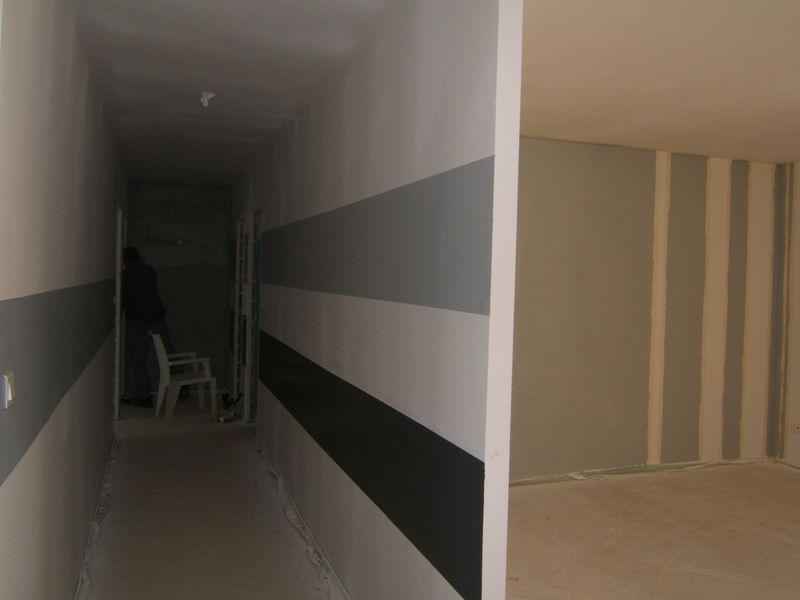 photo déco maison peinture couloir