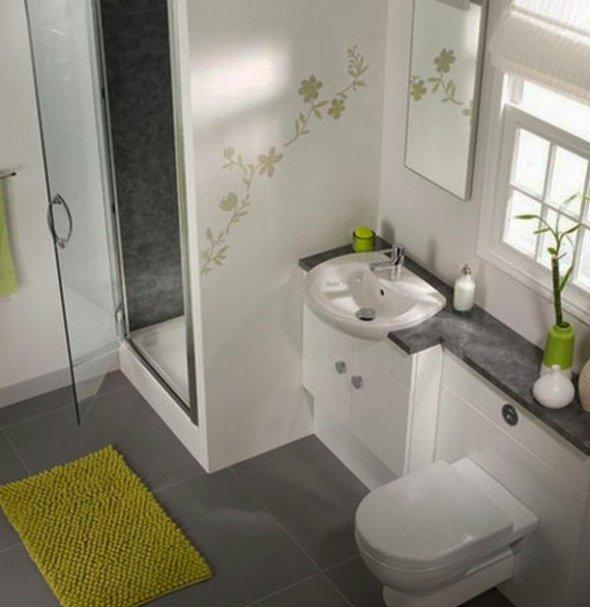 aménagement déco mini salle de bain