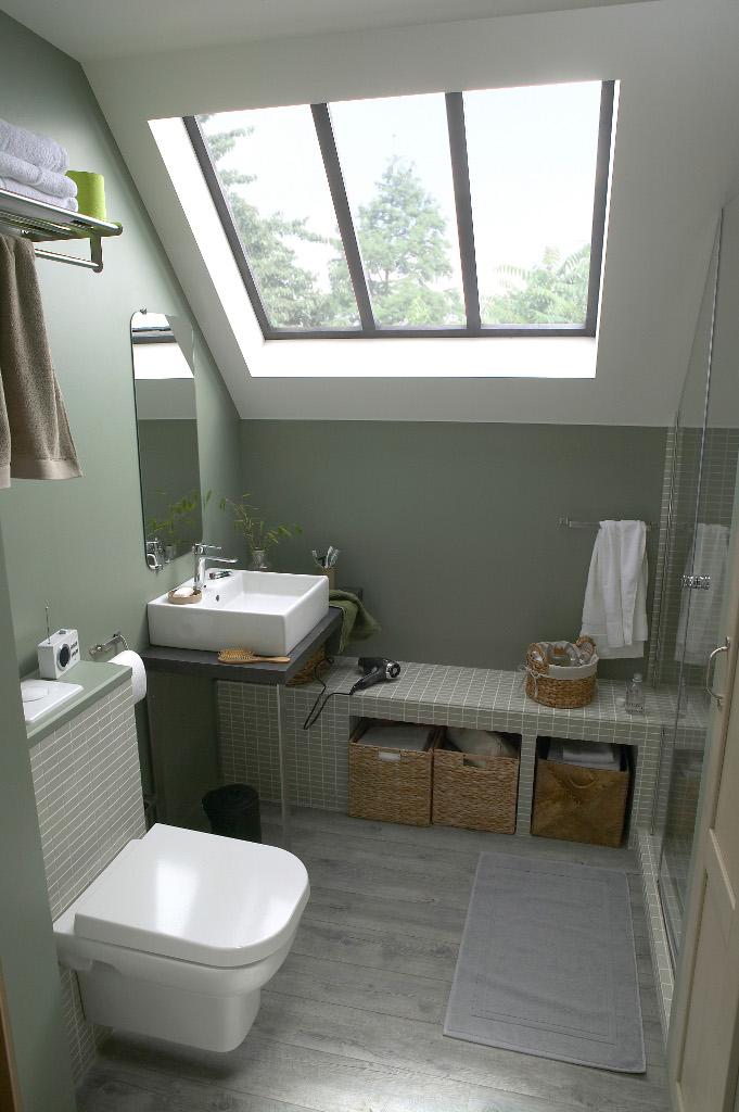 idée déco mini salle de bain