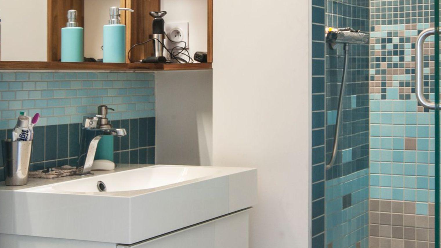 exemple déco mini salle de bain