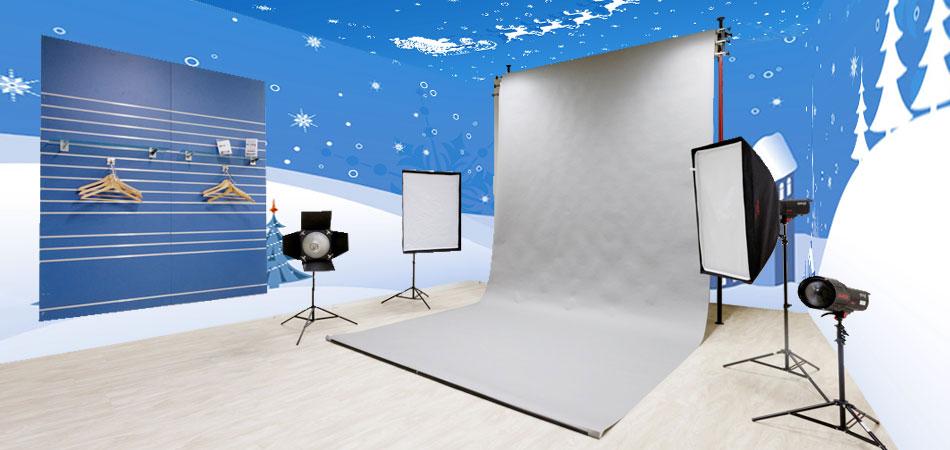 exemple déco noel studio