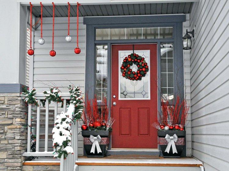 aménagement déco noel veranda