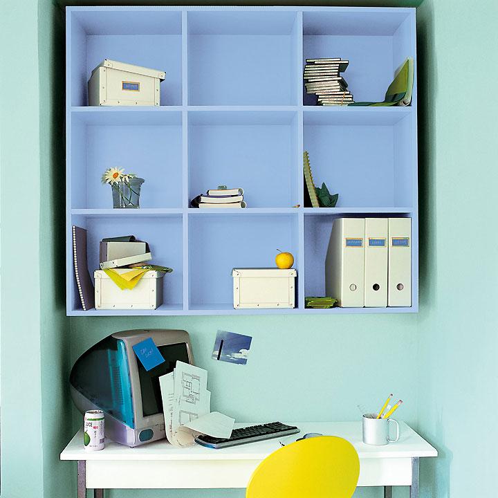 aménagement déco peinture petit espace
