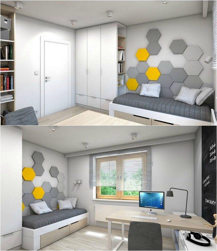 organisation déco peinture petit espace