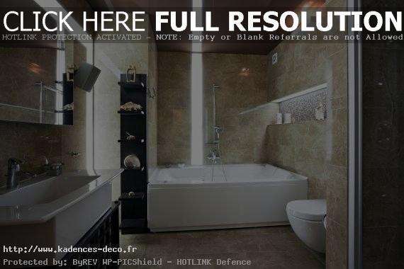 idée déco salle de bain spa