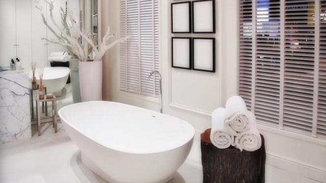 photo déco salle de bain spa