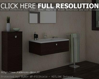 photo déco salle de bain wenge