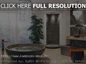 agencement déco salle de bain zen et nature