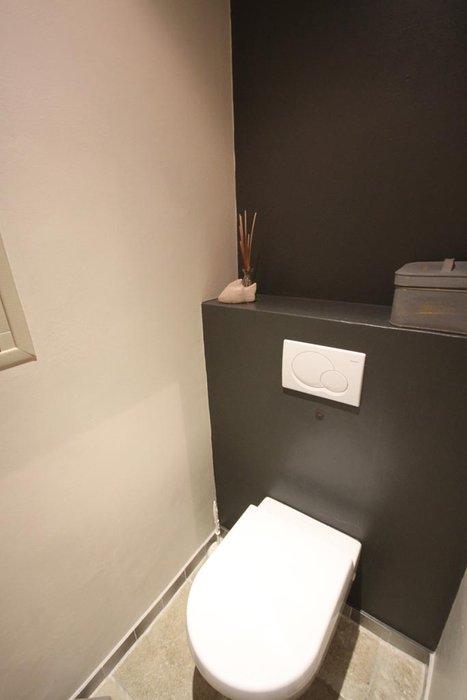 aménagement déco wc contemporain