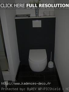 exemple déco wc contemporain