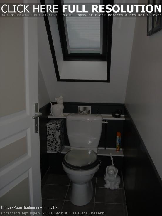 organisation déco wc contemporain