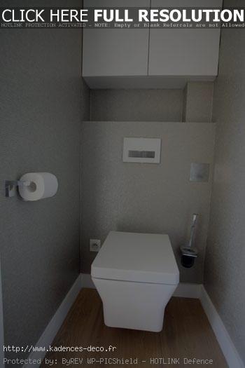 photo déco wc contemporain
