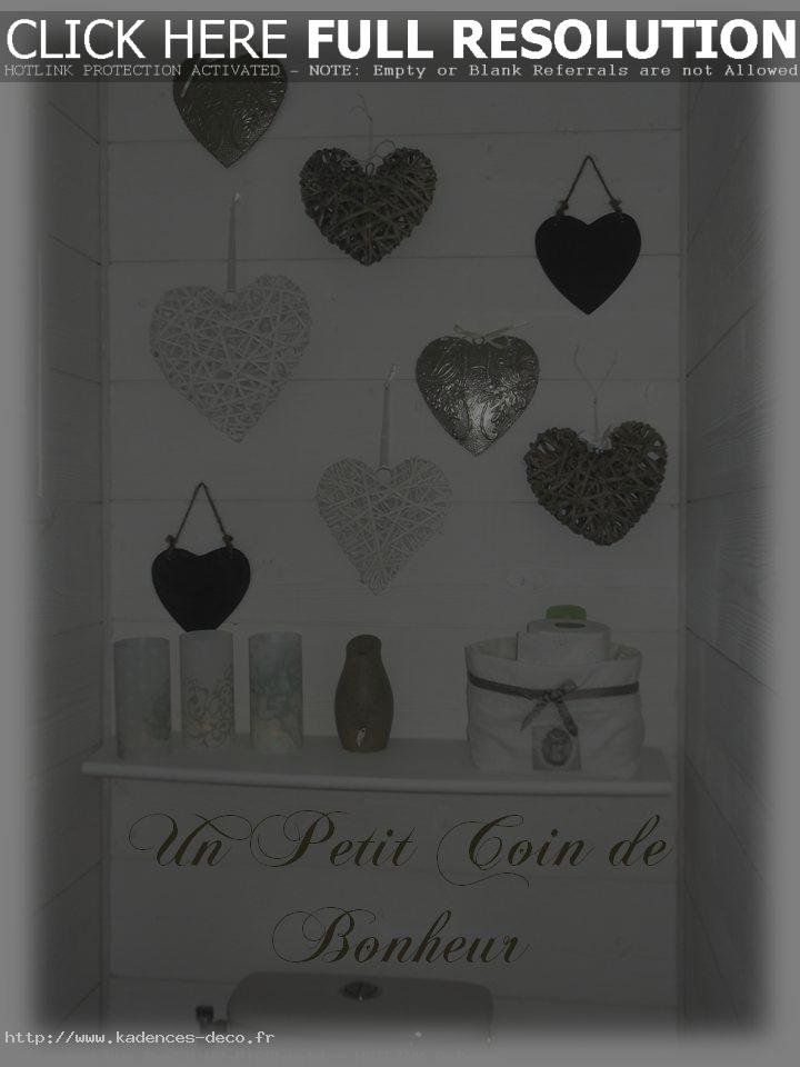 exemple déco wc shabby