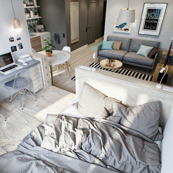 photo décoration appartement jeune couple
