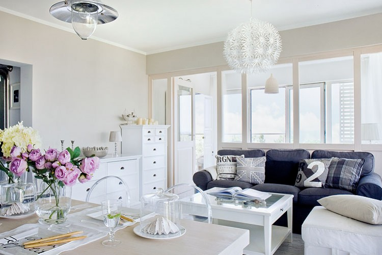 aménagement décoration appartement mer