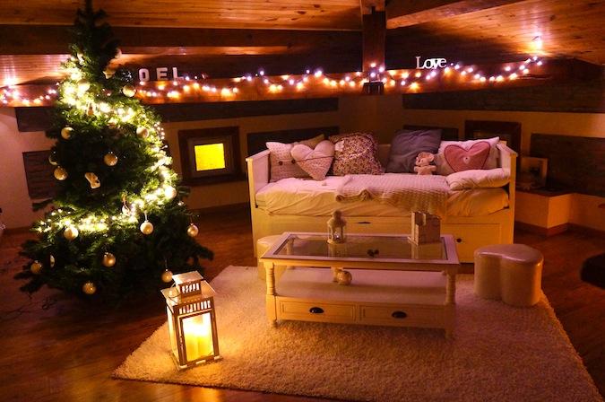 exemple décoration appartement noel