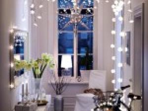 modèle décoration appartement noel